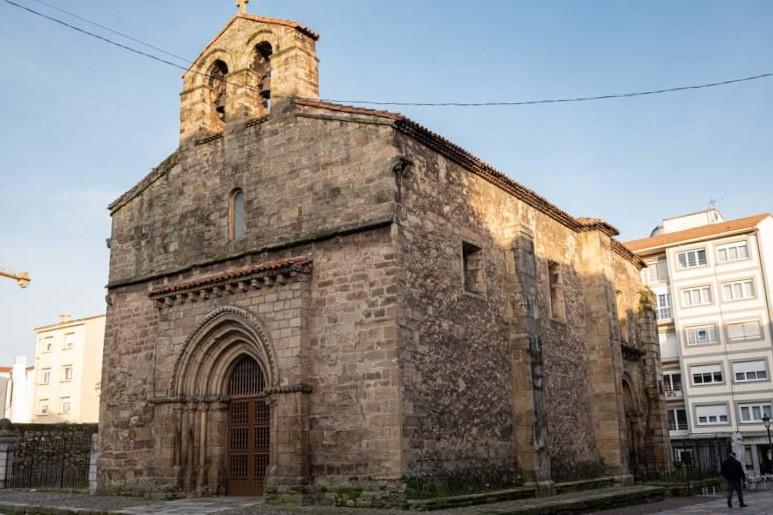 Iglesia vieja de Sabugo Avilés