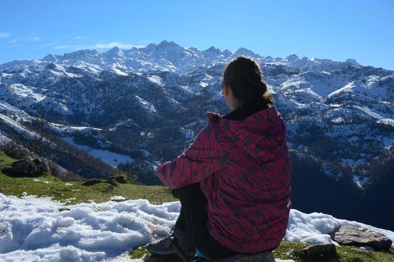 Panorámica al Macizo Occidental de Picos de Europa Asturias