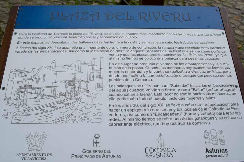 Tazones plaza del Riveru