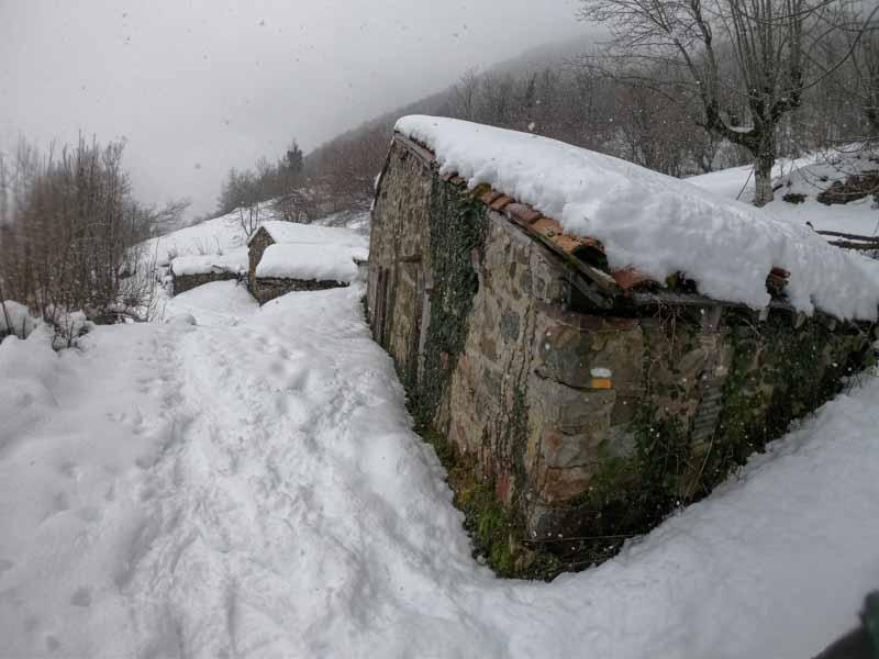 Excursión raquetas de nieve Asturias