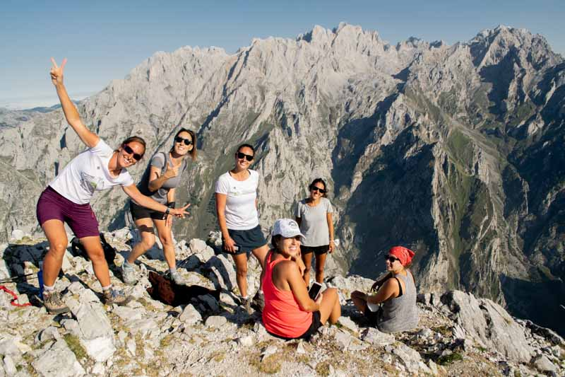 Guias de montaña en Asturias