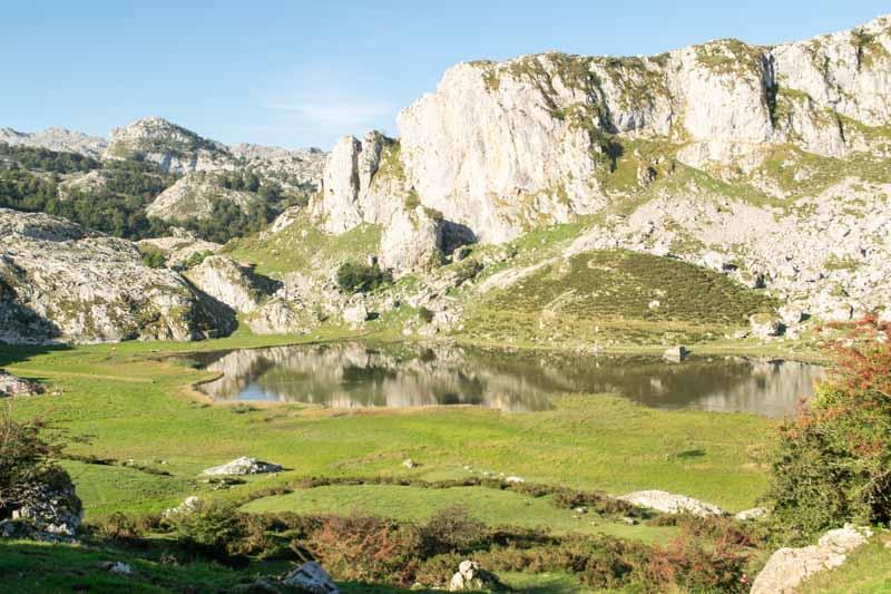 Lago de la Ercina en Covadonga