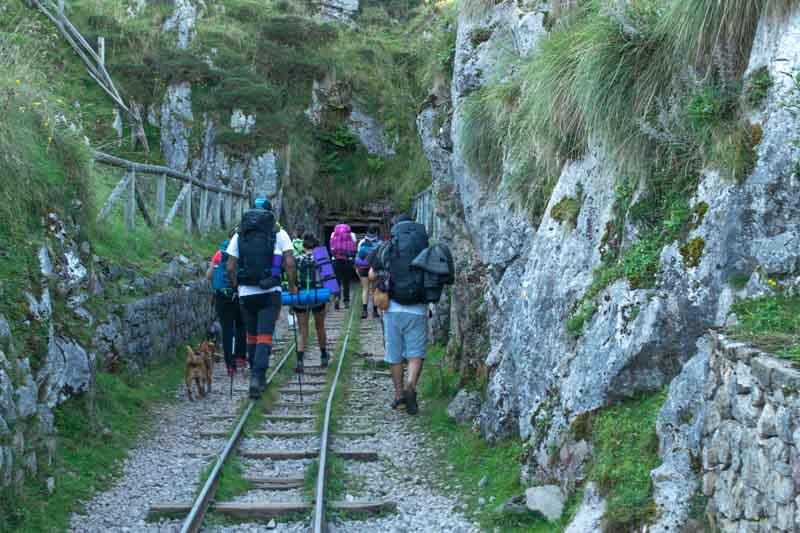 Minas de Buferrera en Covadonga