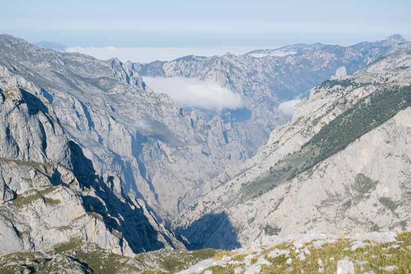 el tiempo en Picos de Europa