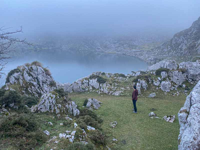 Lago Enol en Covadonga