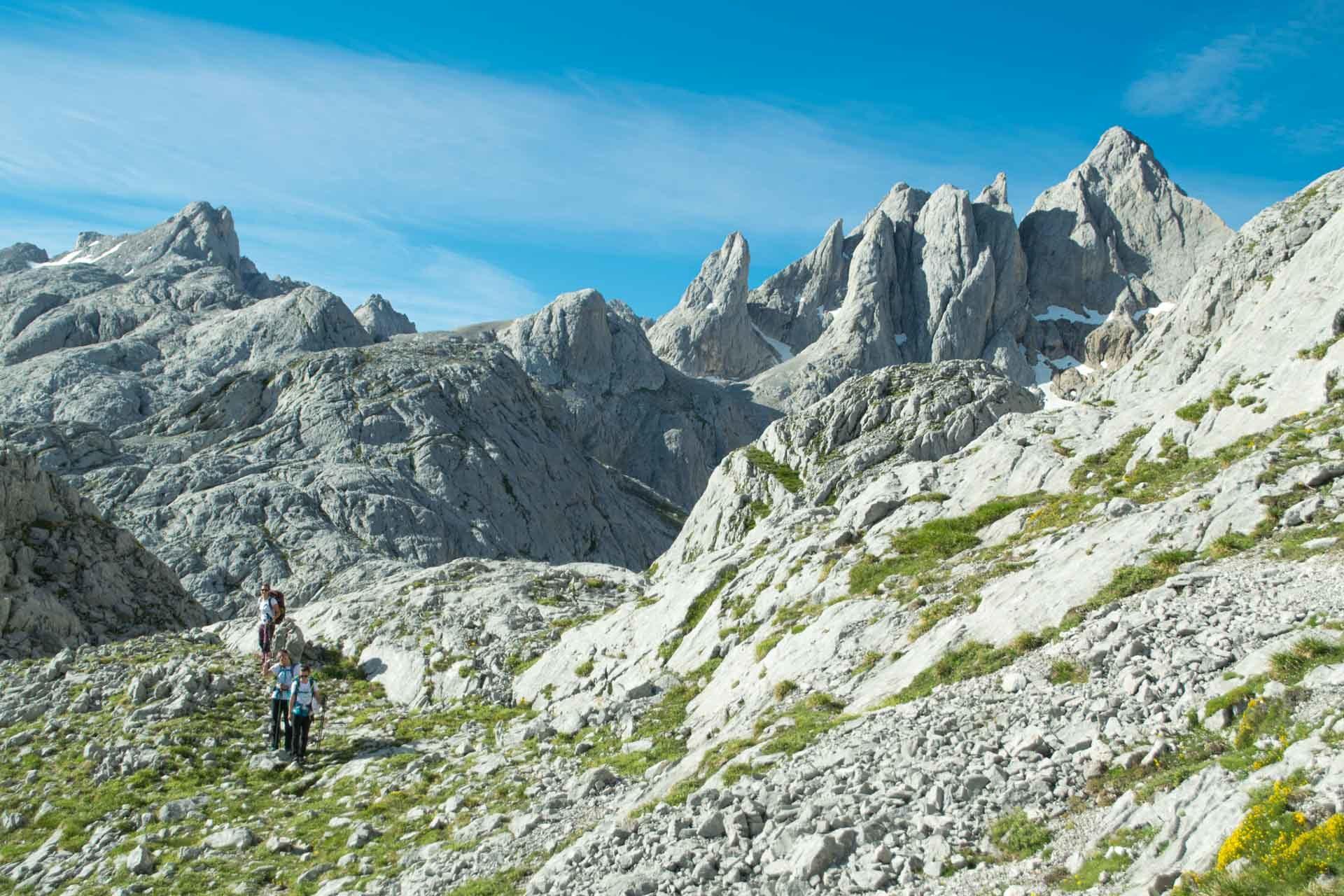 Ruta en macizo central de Picos de Europa