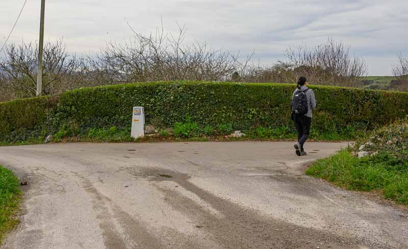 Ultimo desvio en ruta acantilados del Infierno
