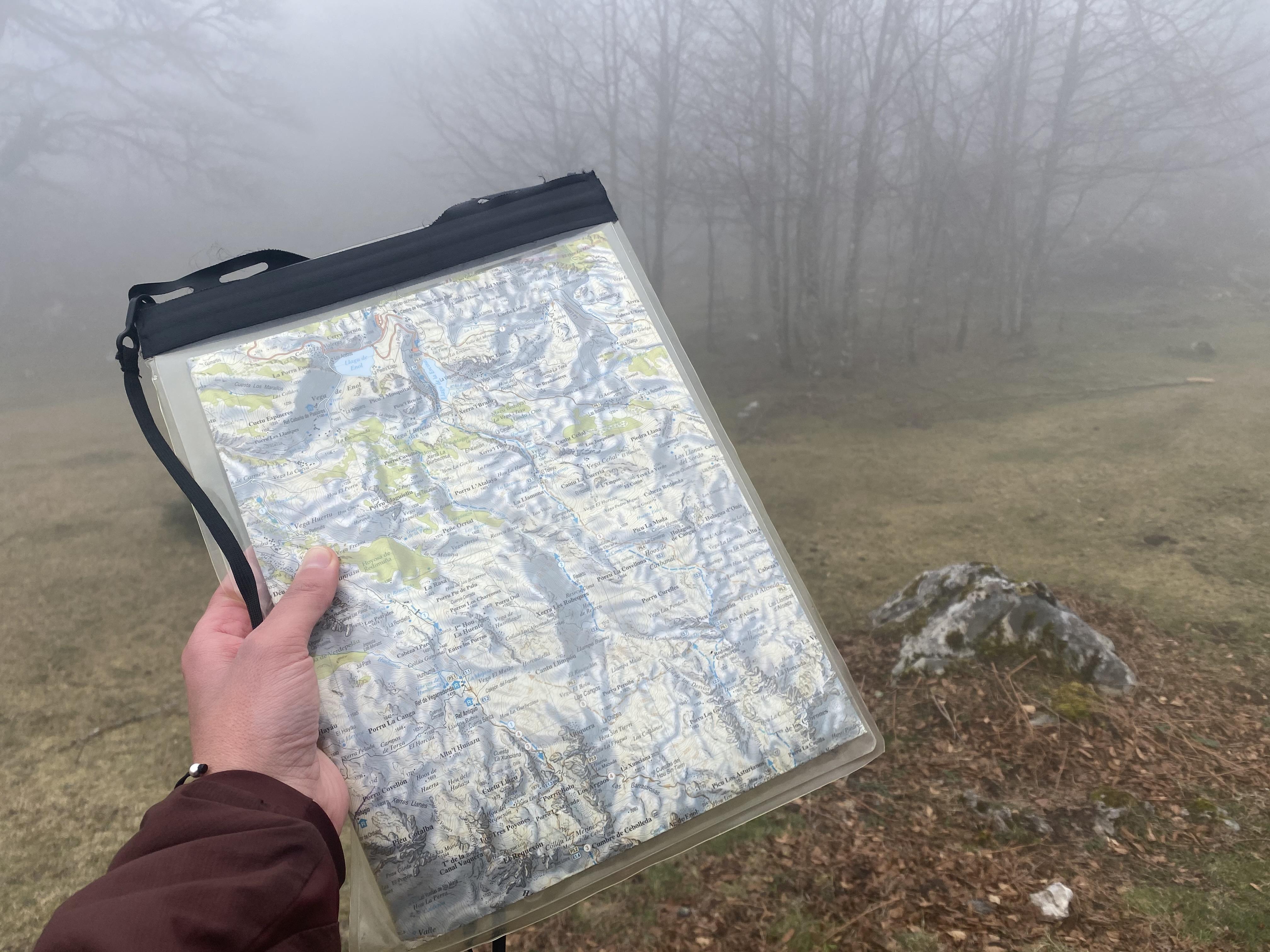 lagos de Covadonga mapa