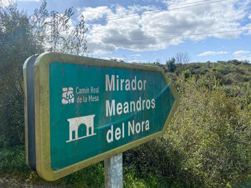 Miradores Meandros del Nora