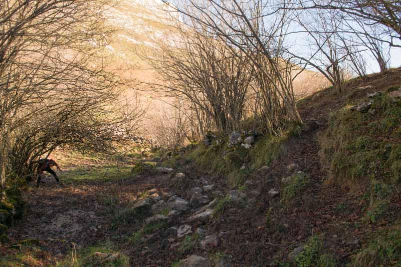 Ruta de Pandebano a Bulnes