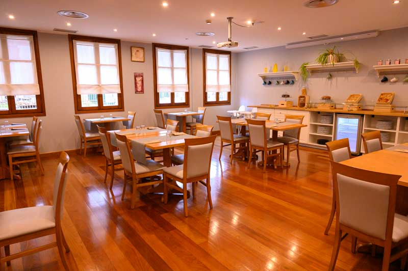 Comedor Hotel Sella en Cangas Onis