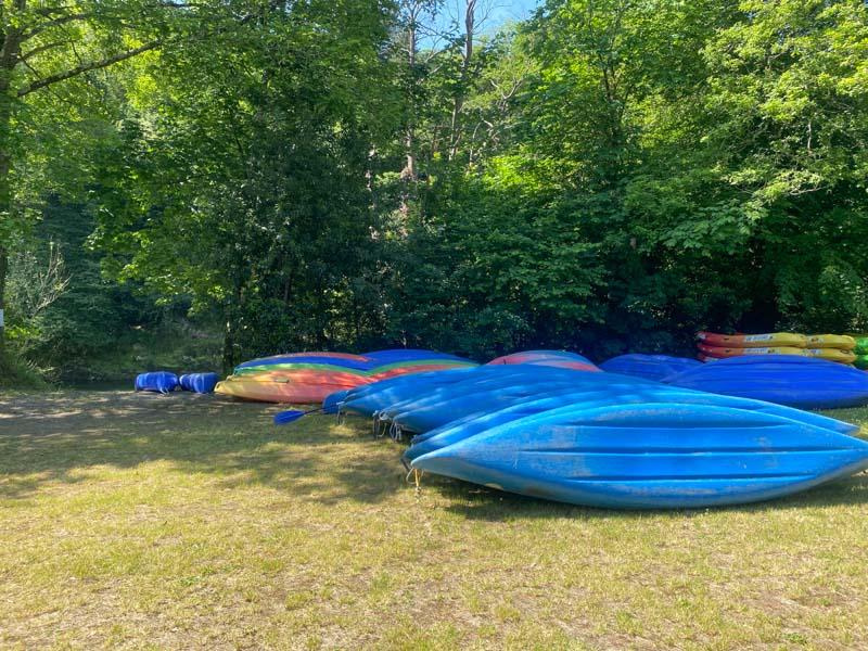 bajar en canoa el rio Sella