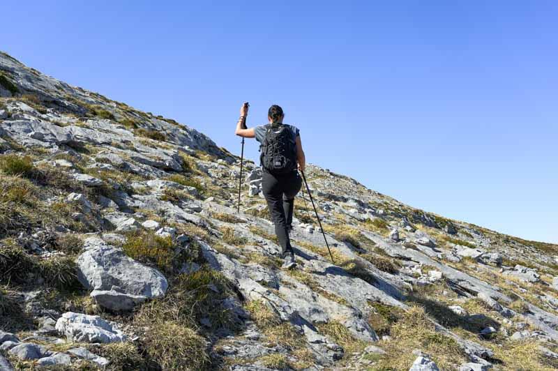 Camino en la ruta a Peña Maín desde Sotres