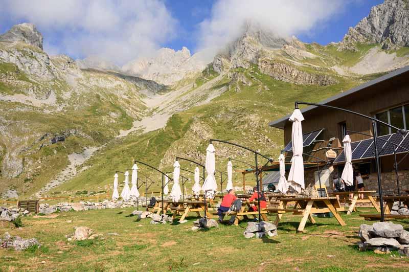 Impresionantes vistas en el Refugio del Meicín, Asturias