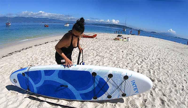 Paddle surf en Rias Baixas en Arosa