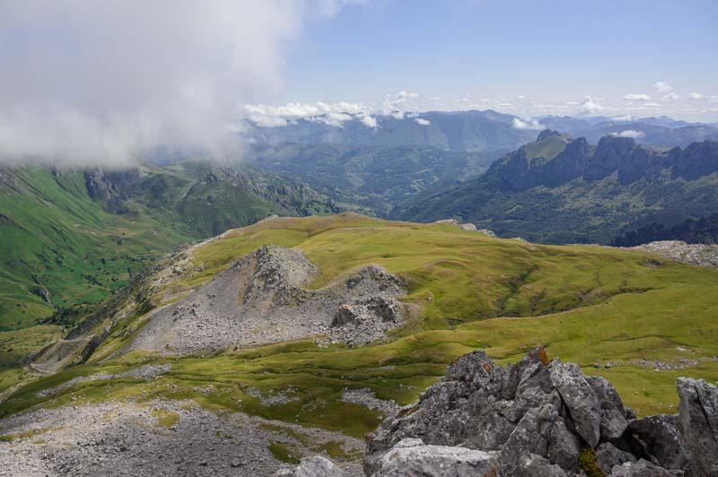 Panorámica desde la cima de Peña Cerreos