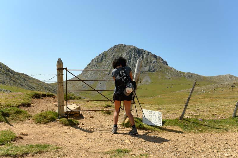 Ruta a Peña Cerreos en parque natural de las Ubiñas - La Mesa en Asturias